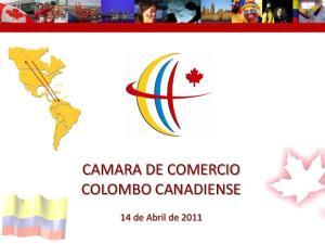 CAMARA DE COMERCIO COLOMBO CANADIENSE