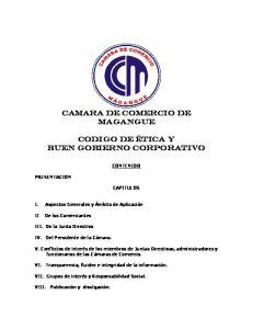CAMARA DE COMERCIO DE MAGANGUE