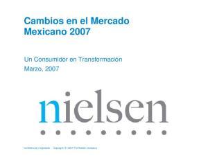 Cambios en el Mercado Mexicano 2007