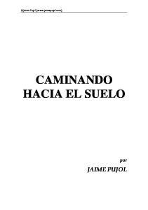 CAMINANDO HACIA EL SUELO
