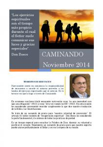 CAMINANDO Noviembre 2014