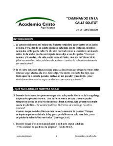 CAMINANDO(EN(LA( CALLE%SOLITO!