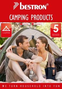 CAMPING PRODUCTS. DE Camping Katalog EN Camping Catalogue CAMPING