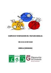 CAMPUS DE TECNIFICACION DEL TRIATLON ANDALUZ