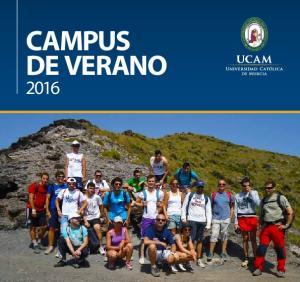 CAMPUS DE VERANO 2016
