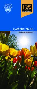 CAMPUS MAPS. Rochester, Minnesota