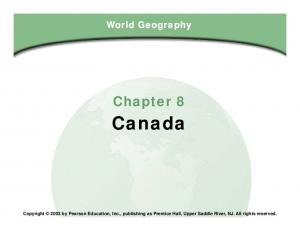 Canada. Chapter 8. Chapter 8, Section
