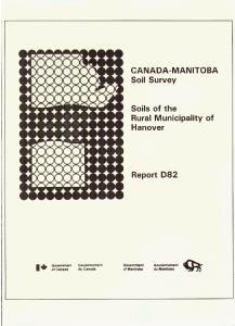 CANADA-MANITOBA Soi1 Survey