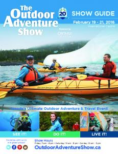 Canada s Ultimate Outdoor Adventure & Travel Event!
