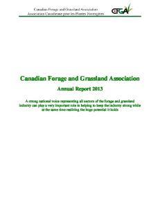 Canadian Forage and Grassland Association