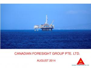 CANADIAN FORESIGHT GROUP PTE. LTD