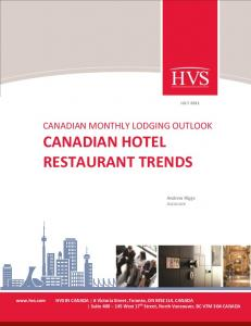 CANADIAN HOTEL RESTAURANT TRENDS