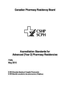 Canadian Pharmacy Residency Board