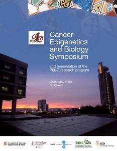 Cancer Epigenetics and Biology Symposium