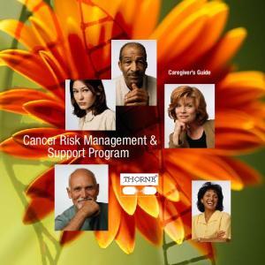 Cancer Risk Management & Support Program