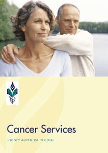 Cancer Services SYDNEY ADVENTIST HOSPITAL