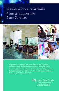Cancer Supportive Care Services