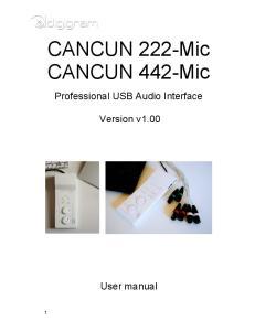 CANCUN 222-Mic CANCUN 442-Mic