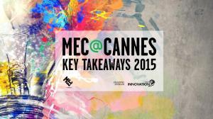 CANNES LIONS FESTIVAL 2015