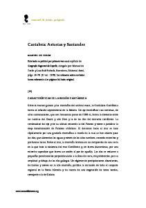 Cantabria: Asturias y Santander