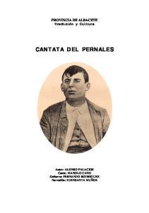 CANTATA DEL PERNALES