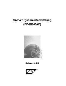 CAP-Vorgabewertermittlung (PP-BD-CAP)