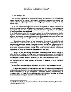 CAPACIDAD DE CARGA EN SUELOS 1