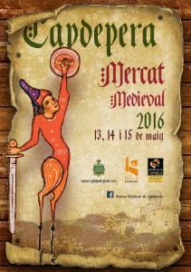 Capdepera. Mercat. Medieval. 13, 14 i 15 de maig.  Mercat Medieval de Capdepera