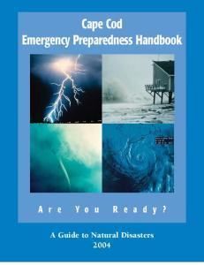Cape Cod Emergency Preparedness Handbook