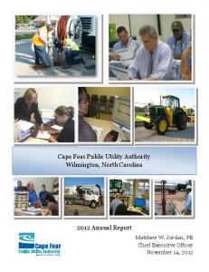 Cape Fear Public Utility Authority Wilmington, North Carolina Annual Report