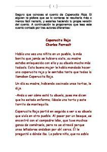 Caperucita Roja Charles Perrault
