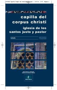 capilla del corpus christi