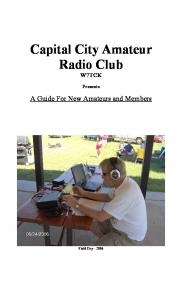 Capital City Amateur Radio Club W7TCK