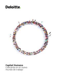 Capital Humano Liderando en el nuevo mundo de trabajo