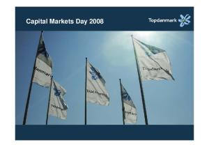 Capital Markets Day 2008