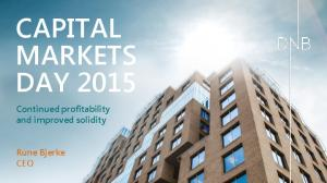 CAPITAL MARKETS DAY 2015