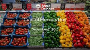 Capital Markets Day. December 7, 2016