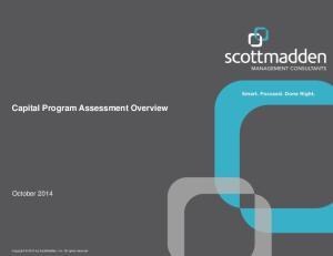Capital Program Assessment Overview