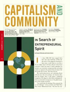 CAPITALISM COMMUNITY AND. best books 2008 capitalism