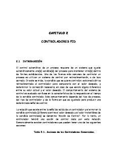 CAPITULO 2 CONTROLADORES PID