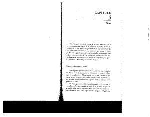 CAPITULO 5. Dios. Las creencias y otras cosas
