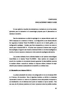 CAPITULO 6 SIMULACIONES Y RESULTADOS