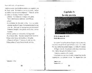 Capitulo 9: La isla secreta