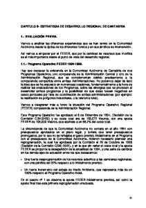 CAPITULO II- ESTRATEGIA DE DESARROLLO REGIONAL DE CANTABRIA