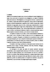 CAPITULO VI: JMRomo 1. Contexto