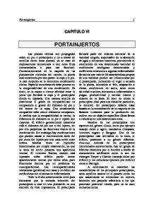 CAPITULO VI PORTAINJERTOS