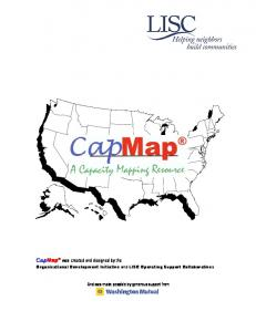 CapMap was created and designed by the. And was made possible by generous support from