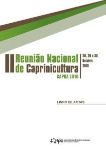 CAPRA 2010 LIVRO DE ACTAS