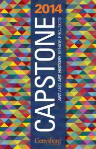 CAPSTONE ART AND ART HISTORY SENIOR PROJECTS