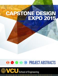 CAPSTONE DESIGN EXPO 2015